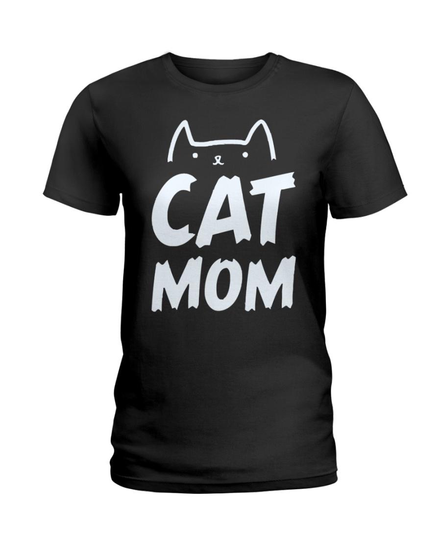 CAT MOM Ladies T-Shirt