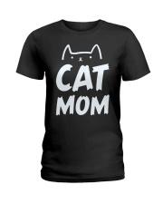 CAT MOM Ladies T-Shirt front