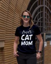 CAT MOM Ladies T-Shirt lifestyle-women-crewneck-front-2
