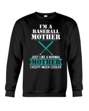 I'M A BASEBALL MOTHER Crewneck Sweatshirt thumbnail