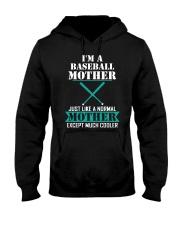 I'M A BASEBALL MOTHER Hooded Sweatshirt thumbnail