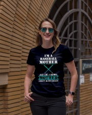 I'M A BASEBALL MOTHER Ladies T-Shirt lifestyle-women-crewneck-front-2