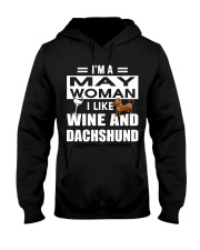 MAY WOMAN DACHSHUND Hooded Sweatshirt thumbnail