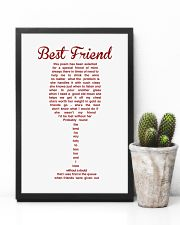 THIS POEM HAS BEEN SELECTED FOR A SPECIAL FRIEND 11x17 Poster lifestyle-poster-8