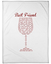 """THIS POEM HAS BEEN SELECTED FOR A SPECIAL FRIEND Large Fleece Blanket - 60"""" x 80"""" thumbnail"""