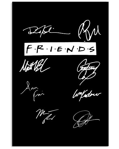 LIMITED EDITION- FRIENDS SIGNATURE