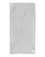 DO Summer COVIDition-19 Beach Towel front
