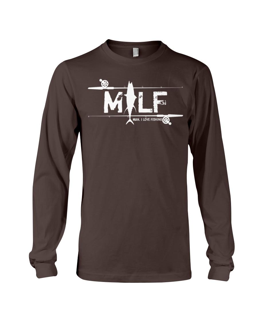 MILF - man i love fishing  Long Sleeve Tee