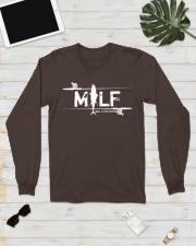 MILF - man i love fishing  Long Sleeve Tee lifestyle-unisex-longsleeve-front-6