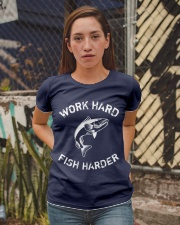 Work Hard Fish Harder Ladies T-Shirt apparel-ladies-t-shirt-lifestyle-03