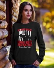 Proud Wife of A Army Sweatshirts Shirt Mug Crewneck Sweatshirt lifestyle-unisex-sweatshirt-front-7