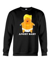 Baby Trump Shirt Angry Baby Crewneck Sweatshirt thumbnail