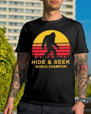 hide and seek world champion shirt 2 Classic T-Shirt lifestyle-mens-crewneck-front-8