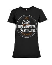 Meteorologist Gift funny T Shirt w Premium Fit Ladies Tee thumbnail