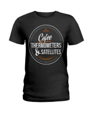 Meteorologist Gift funny T Shirt w Ladies T-Shirt tile