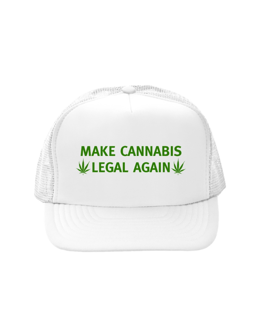Make Cannabis Legal Again Hat Trucker Hat