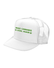 Make Cannabis Legal Again Hat Trucker Hat left-angle