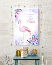In a world full of birds be a flamingo 11x17 Poster lifestyle-holiday-poster-3
