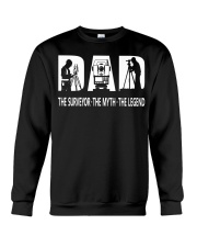 Surveyor t shirt for fathers day  Crewneck Sweatshirt thumbnail
