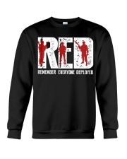 Veterans Day - Remember Everyone Deployed Crewneck Sweatshirt thumbnail