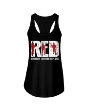 Veterans Day - Remember Everyone Deployed Ladies Flowy Tank thumbnail
