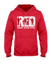Veterans Day - Remember Everyone Deployed Hooded Sweatshirt front