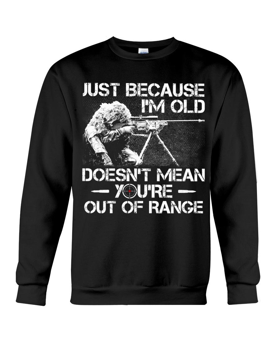 Veteran - Not out of range Crewneck Sweatshirt