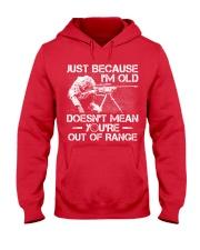 Veteran - Not out of range Hooded Sweatshirt thumbnail