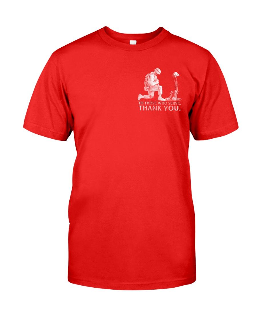 R E D FRIDAYS - Honor the Fallen Classic T-Shirt