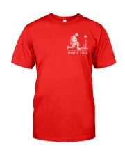 R E D FRIDAYS - Honor the Fallen Classic T-Shirt front