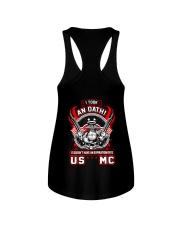 US MC - Oath Ladies Flowy Tank thumbnail