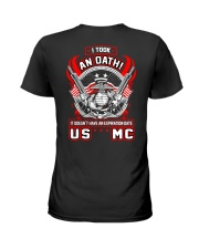 US MC - Oath Ladies T-Shirt thumbnail