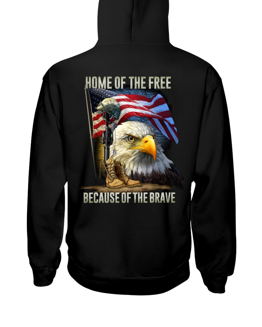 Veteran - Home Hooded Sweatshirt