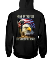 Veteran - Home Hooded Sweatshirt back