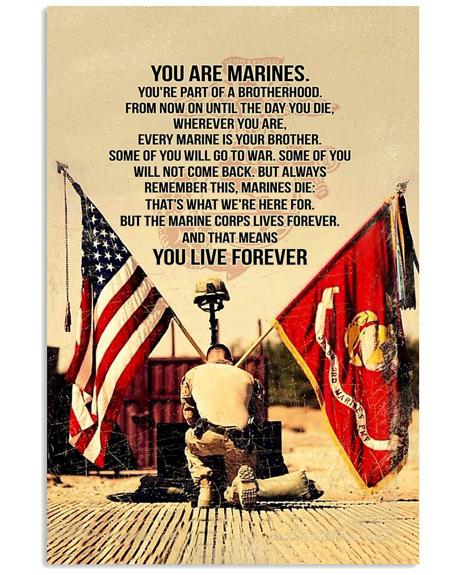 Marines Poster 11x17 Poster