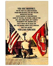 Marines Poster 11x17 Poster front
