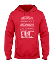 Veteran - RED EVERY DAY Hooded Sweatshirt thumbnail