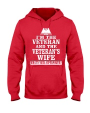 Female Veterans - Superpower Hooded Sweatshirt thumbnail