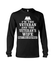 Female Veterans - Superpower Long Sleeve Tee thumbnail