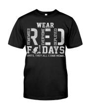 R E D FRIDAYS  Classic T-Shirt thumbnail