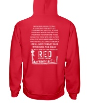 R E D FRIDAYS  Hooded Sweatshirt back