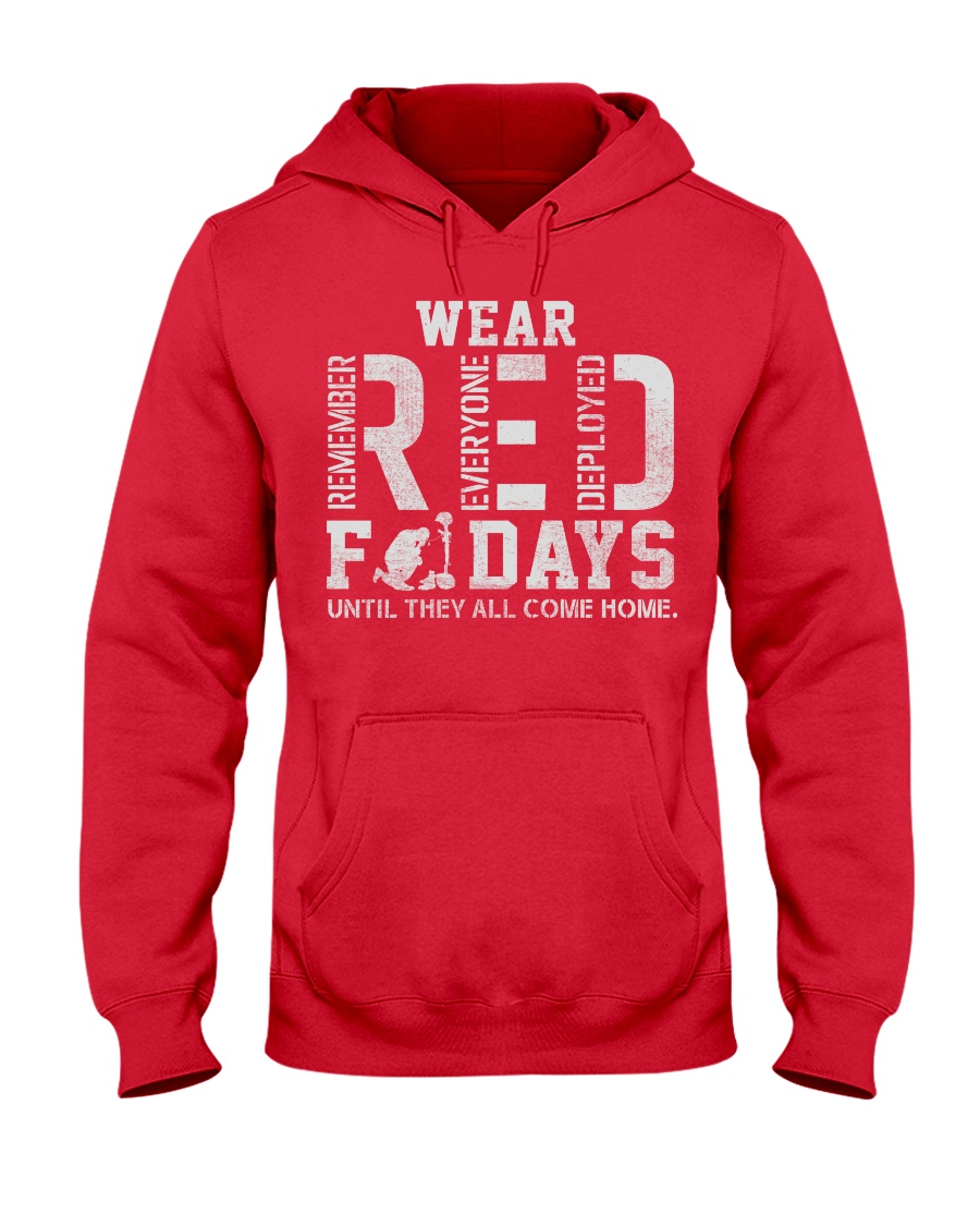 R E D FRIDAYS  Hooded Sweatshirt