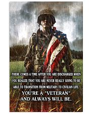 Always A Veteran Poster 11x17 Poster front