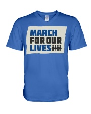 March For Our Lives T Shirts V-Neck T-Shirt thumbnail