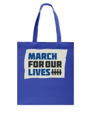 March For Our Lives T Shirts Tote Bag thumbnail