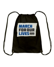 March For Our Lives T Shirts Drawstring Bag thumbnail