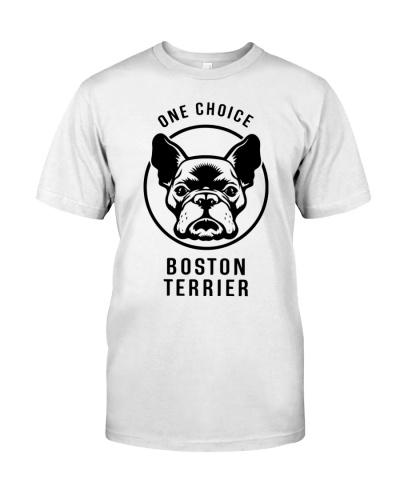One choice Boston Terrier