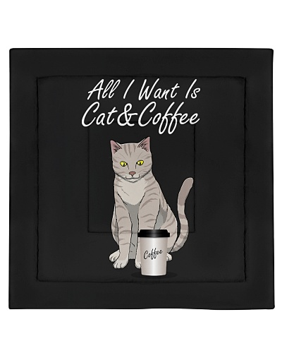 All I Want Is Cat And Coffee