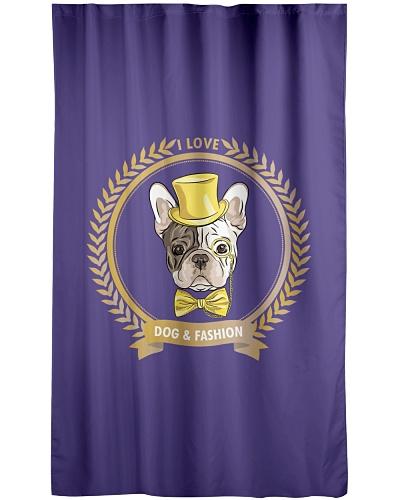 I love dog and fashion
