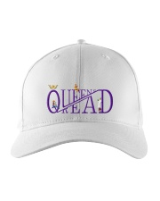 Queens Read Embroidered Hat front